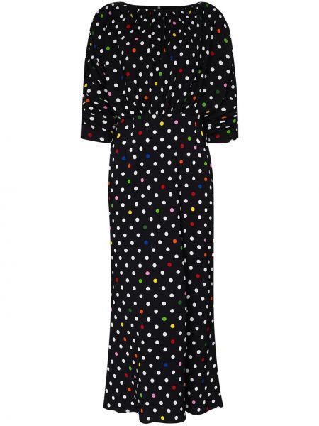 Sukienka midi mini z jedwabiu Christopher Kane