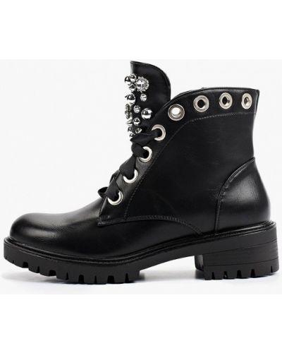Черные резиновые полуботинки Ideal Shoes®