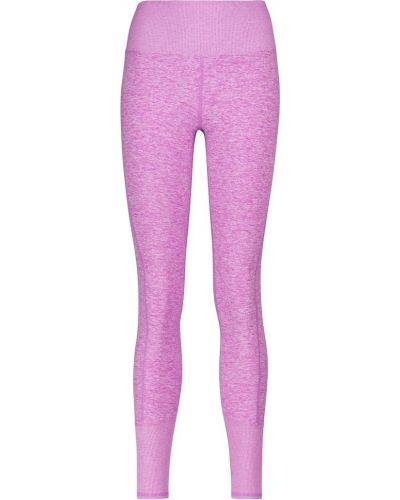 Фиолетовые леггинсы для йоги Alo Yoga