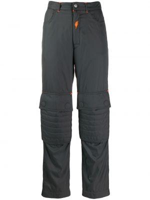 Прямые брюки с воротником Walter Van Beirendonck Pre-owned