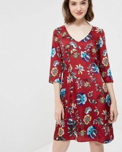 Платье прямое осеннее Naf Naf