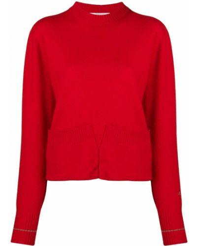Джемпер в рубчик красный Victoria, Victoria Beckham