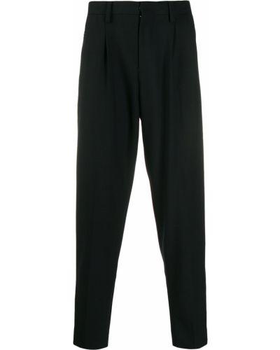 Черные брюки с поясом Johnundercover