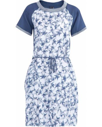 Платье с поясом однотонное из вискозы Lorena Antoniazzi