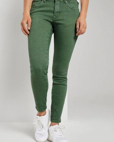 Синие повседневные брюки Tom Tailor Denim