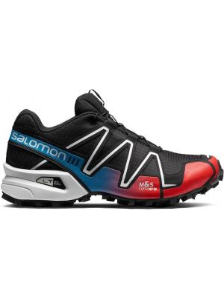 Нейлоновые черные кроссовки Salomon S/lab