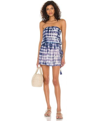 Платье с декольте - белое Tiare Hawaii