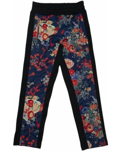 Niebieskie spodnie Palm Angels