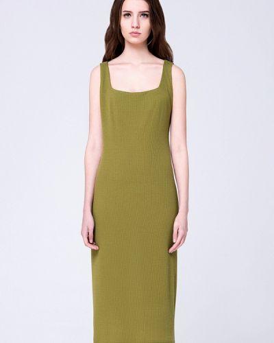 Платье мини осеннее хаки Minimally