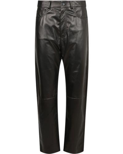 Czarne spodnie Drome