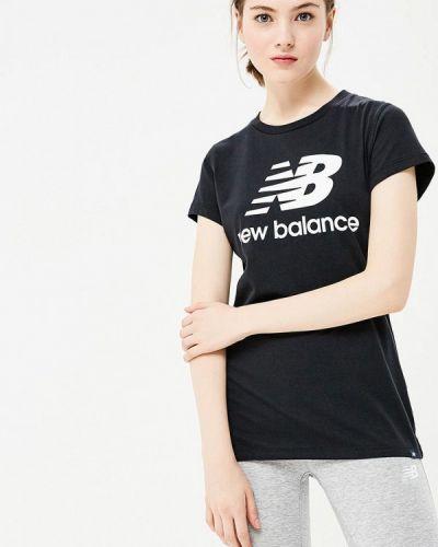 Черная футболка 2019 New Balance
