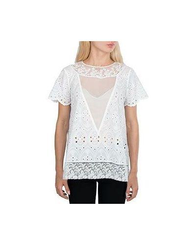 Хлопковая блузка - белая No.21