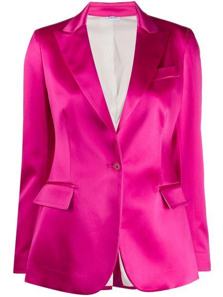 Пиджак розовый с накладными карманами P.a.r.o.s.h.
