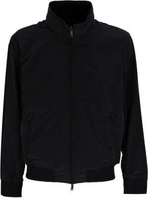 Черная куртка из полиэстера Emporio Armani