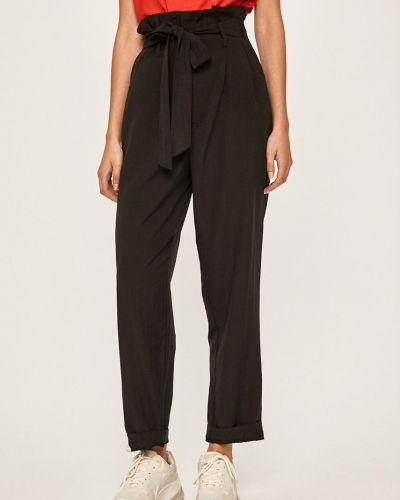 Spodnie z więzami czarne Answear