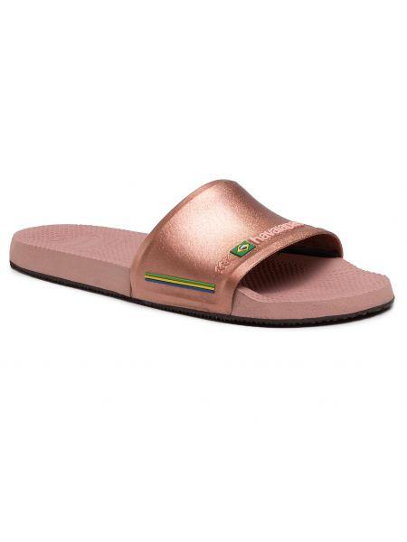 Różowe sandały na lato Havaianas