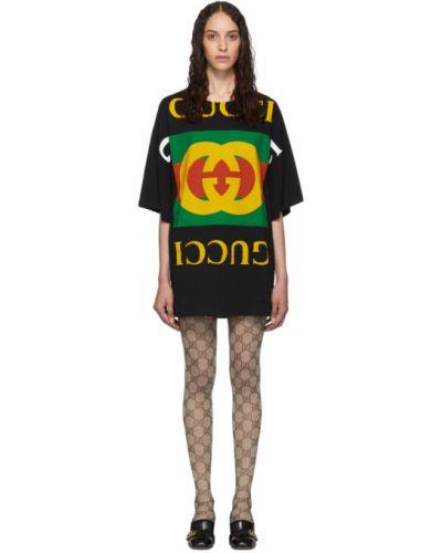 Платье оверсайз вязаное Gucci