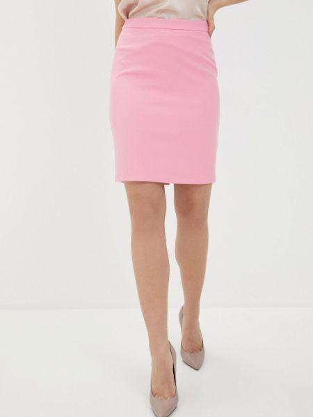 Облегающее платье розовое весеннее Adl