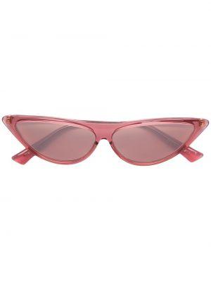 Прямые розовые солнцезащитные очки металлические Christian Roth