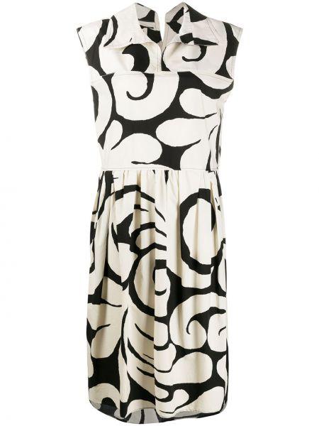 Платье миди классическое с рукавами Marni