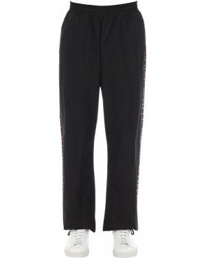Spodnie z nylonu - czarne Mcq Alexander Mcqueen