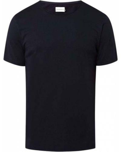 Niebieska koszulka bawełniana Nowadays