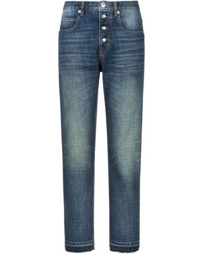 Mom jeans - niebieskie Isabel Marant Etoile
