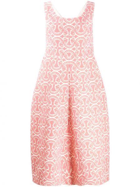 Платье миди на молнии с рукавами Jil Sander