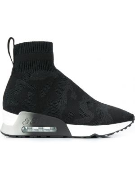 Спортивные черные носки Ash