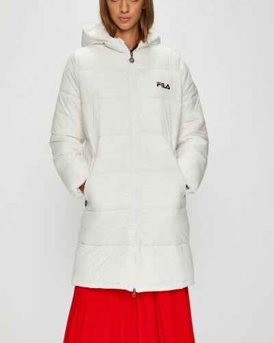 Куртка с капюшоном стеганая с карманами Fila