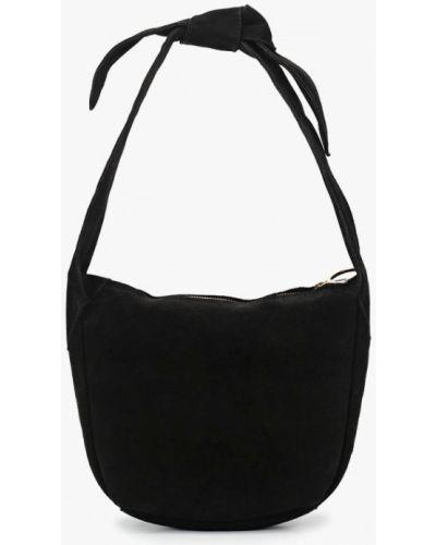 Черная сумка с ручками Mango