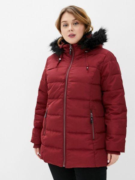 Утепленная куртка - красная Rosa Thea