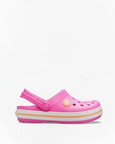 Różowe chodaki Crocs