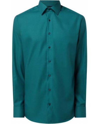 Zielona koszula bawełniana Eterna