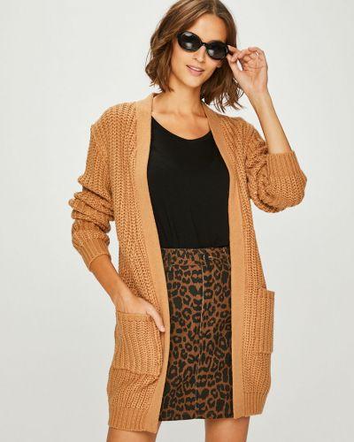Вязаный свитер с узором длинный Answear