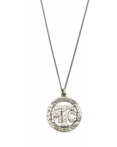 Серебряное ожерелье на змейке Maharishi