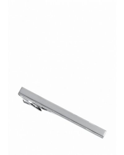 Зажим для галстука серебряного цвета Lindenmann