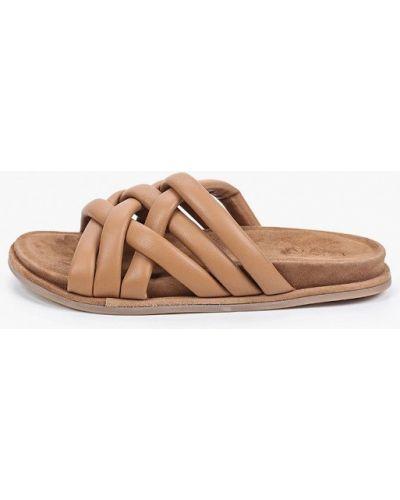 Кожаные сабо - коричневые Inuovo