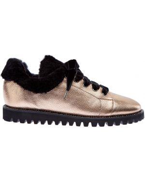 Кроссовки с мехом бархатные Ballin