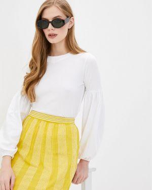 Белая блузка Stefanel