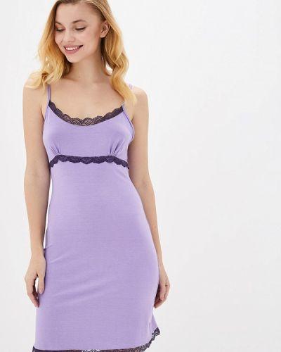 Фиолетовая домашняя ночнушка Mianagreen