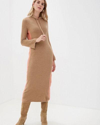 Платье осеннее бежевое Rinascimento