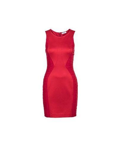Вечернее платье из вискозы красный Versace Collection