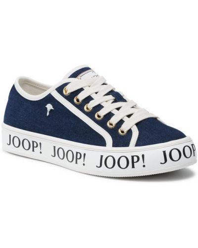 Sneakersy - granatowe Joop!