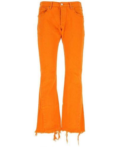 Pomarańczowe mom jeans Gallery Dept.