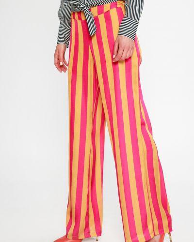 Свободные брюки с поясом Sh
