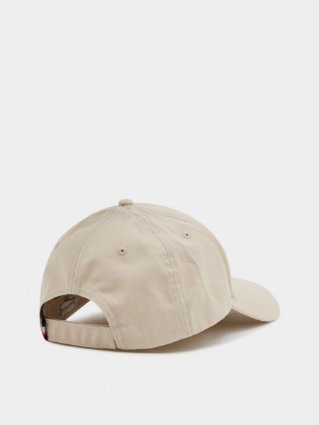 Бежевая кепка Tommy Hilfiger