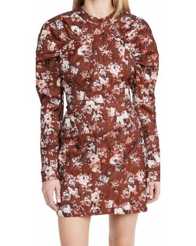 Платье мини для танцев в цветочный принт стрейч Minkpink