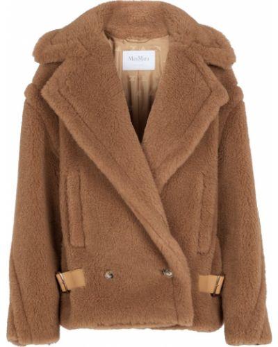 Коричневая шерстяная куртка Max Mara