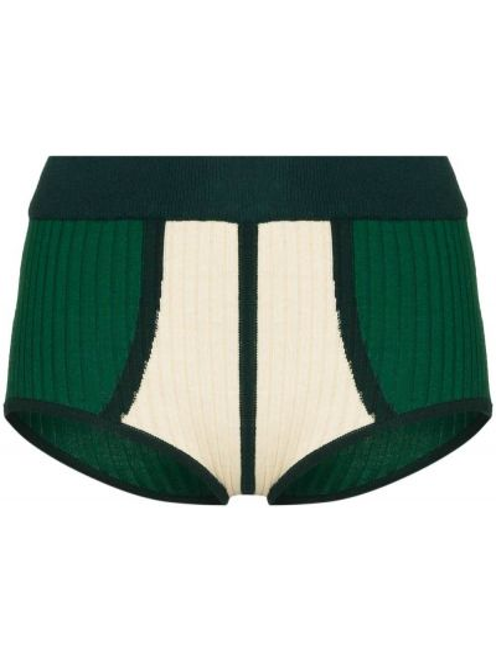 Трикотажные шорты - зеленые Dodo Bar Or